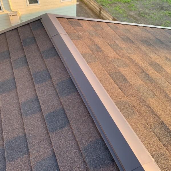 千葉県館山市 屋根上葺き工事